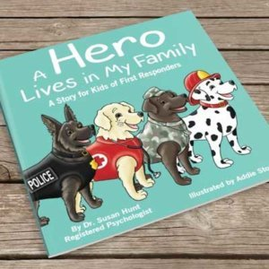 Book Cover A Hero Lives in My Family